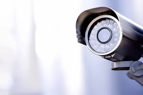 Picture of a security camera